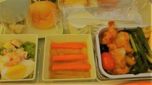 ベトナムエアライン機内食