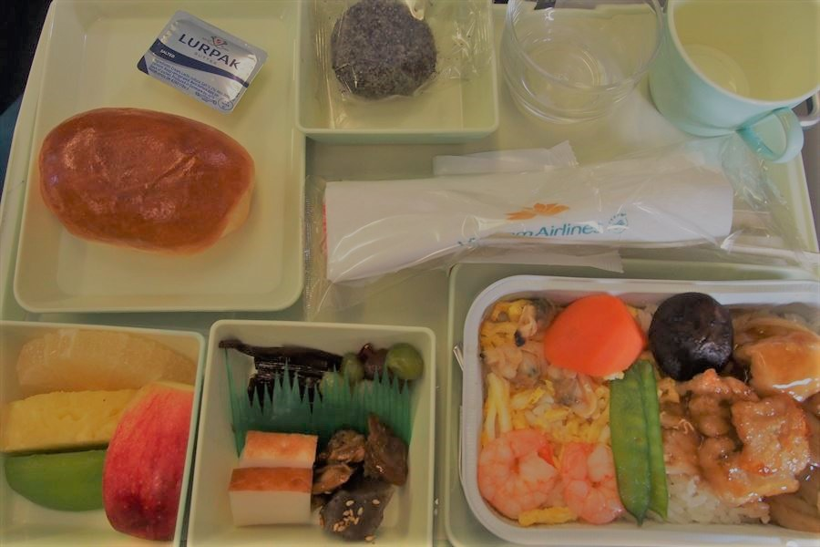 ベトナム空港機内食