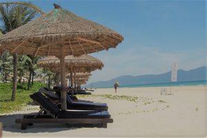 ベトナムメリアダナンのプライベートビーチ