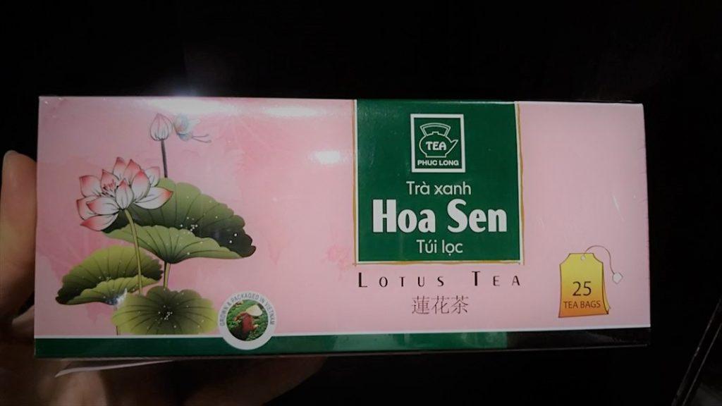 ベトナムダナンのハス茶