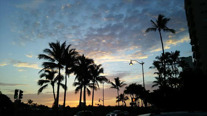 ハワイの風景