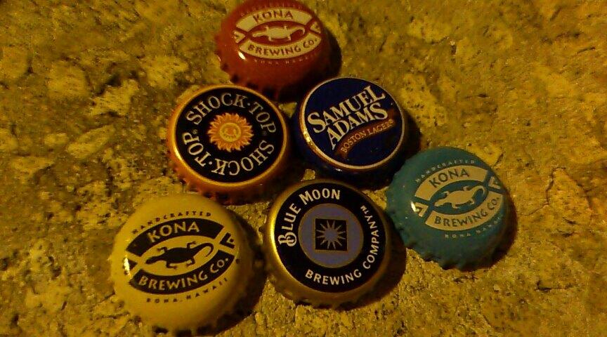 ビールの蓋が可愛い