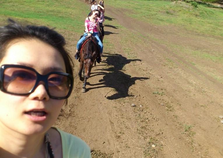 クアロアランチ 乗馬 ブログ